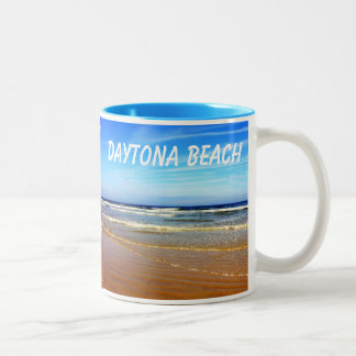 Beach at Daytona Beach, Florida Mug