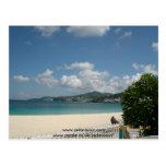 Beach at Grand Beach Hotel, Grenada. Post Card