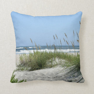 Beach at Ocracoke Reversible Cushion