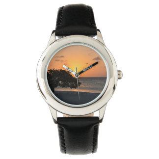 Beach at Sunset Watches