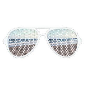 Beach At The Ocean Aviator Sunglasses