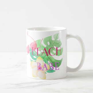 BEACH BABE - BIKINI FLOWER COFFEE MUG
