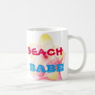 BEACH BABE - BIKINI FLOWER COFFEE MUG