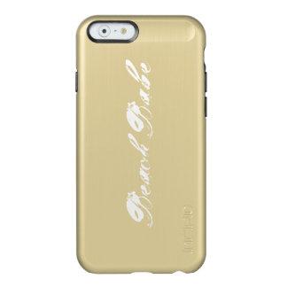 Beach Babe Gold Phone Case Incipio Feather® Shine iPhone 6 Case