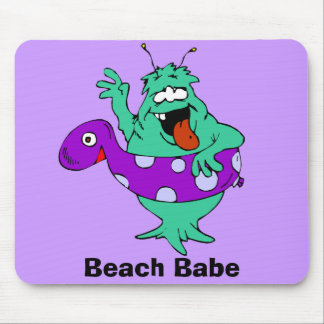Beach Babe Mouse Pad