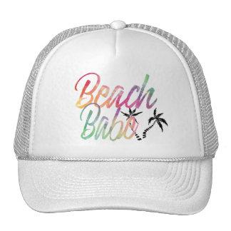 BEACH BABE RAINBOW SCRIPT CAP