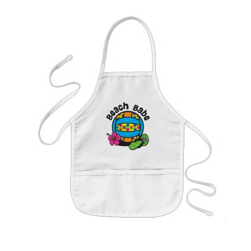 Beach Babe Volleyball Apron