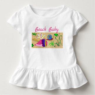 Beach Baby Girl Toddler T-Shirt