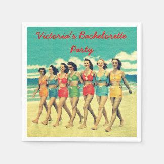Beach Bachelorette Party party cocktail napkins Paper Napkins