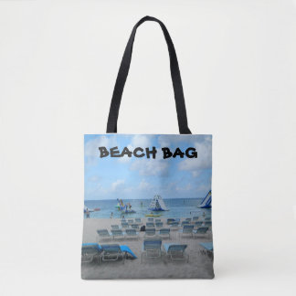 Beach Bag Tote Bag