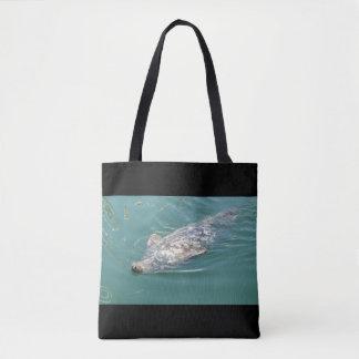 Beach Bag with cute Seals Photos Tote Bag
