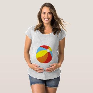 Beach Ball Baby Maternity T-Shirt