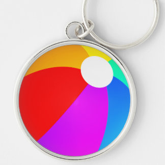 Beach Ball Key Ring