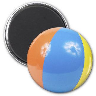 beach ball photo magnet