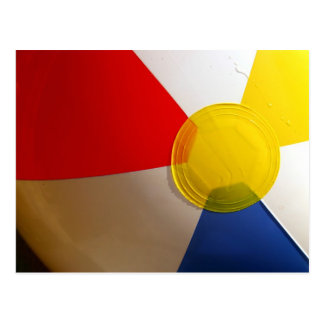 Beach Ball Postcard