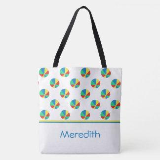 Beach Balls   Personalised Tote Bag