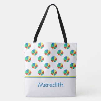 Beach Balls | Personalized Tote Bag