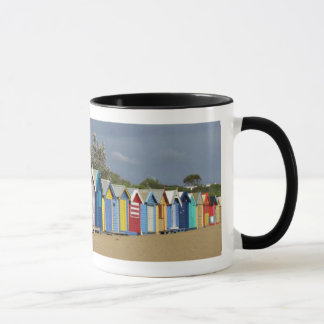 Beach Bathing Boxes Mug