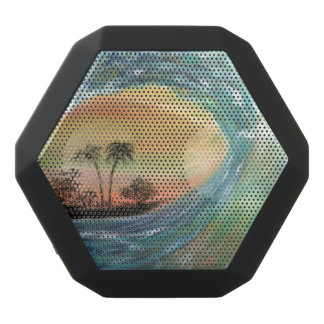 Beach,Beach wave Black Bluetooth Speaker