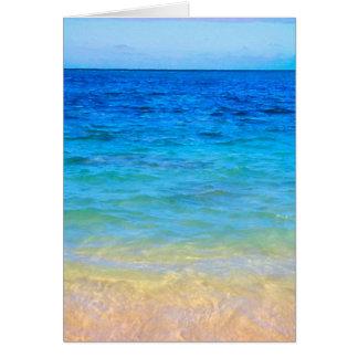 Beach Beauty Card