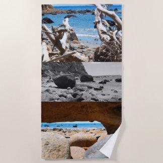 beach beauty new zealand beach towel