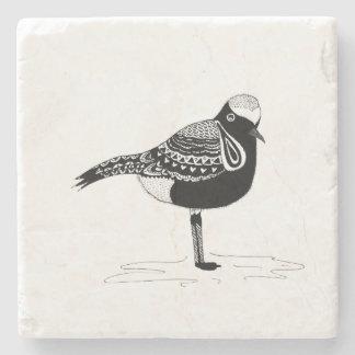 Beach Bird Stone Coaster
