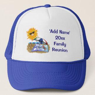 Beach Blanket And Sun Family Reunion Trucker Hat