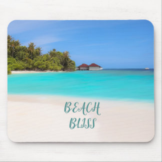 Beach Bliss Tropical Mouse Pad