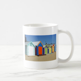 Beach Box Hut Melbourne Australia Coffee Mug