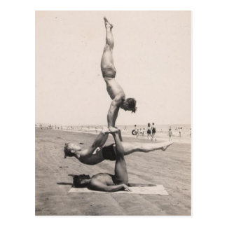 Beach Boy Balance Postcard