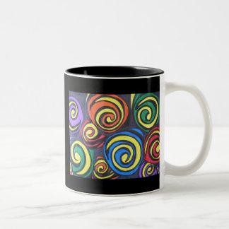 Beach Boys Swirls Mugs