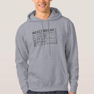 Beach Break ... grey Sweatshirt