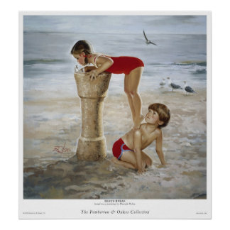 Beach Break Print