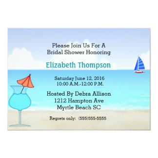 Beach Bridal Shower Invitation