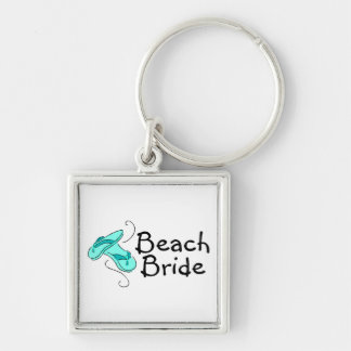 Beach Bride (Flip Flop) Key Ring