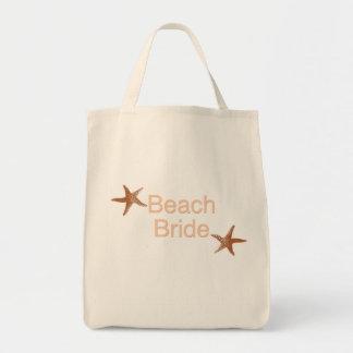 Beach Bride Starfish Design Bags