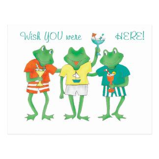 Beach Buddies Postcard
