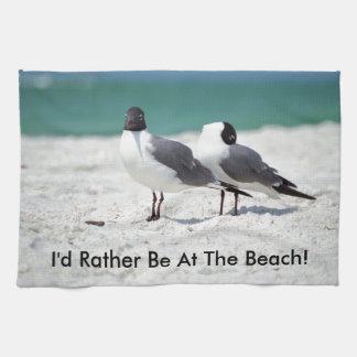 Beach Buddies Tea Towels