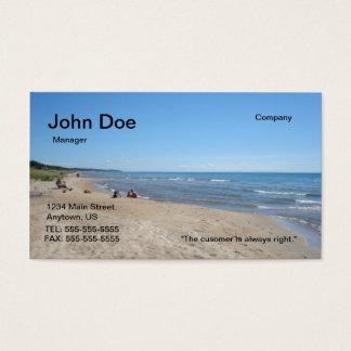 Beach buisness card