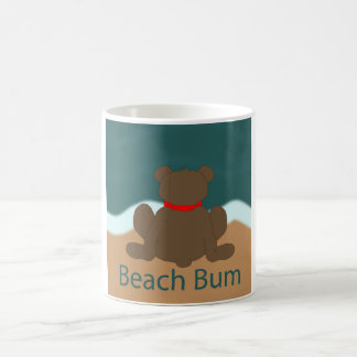 Beach Bum Bear Coffee Mug