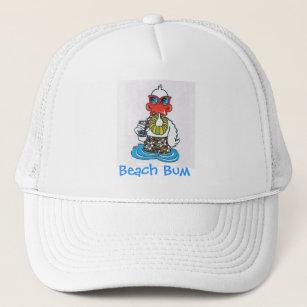 1cb8e35fb8cb7 Beach Bum Duck Trucker Hat