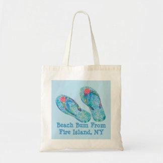 Beach Bum Fire Island NY Tote Bag