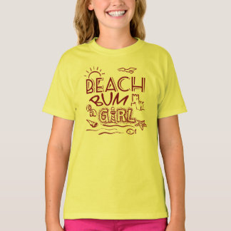 Beach Bum Girl T-Shirt