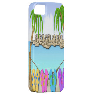Beach Bum iPhone 5/5S Barely There Case iPhone 5 Cover
