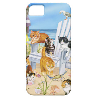 Beach Bum Kittens iPhone SE and iPhone 5/5s Case