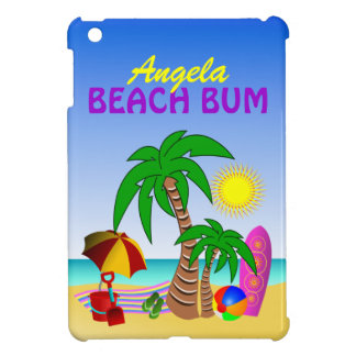 Beach Bum Sun Sea Surf  Cute iPad Mini Case Covers