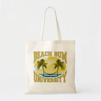 Beach Bum University Tote Bag