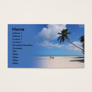 Beach Business Card