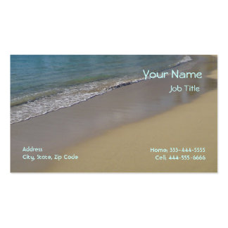 Beach Business Cards