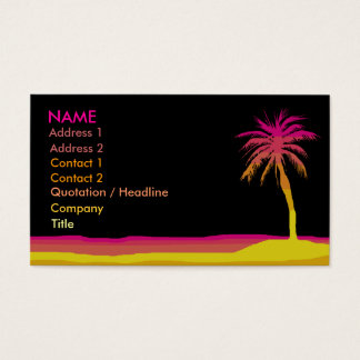 Beach Business / Profile Card
